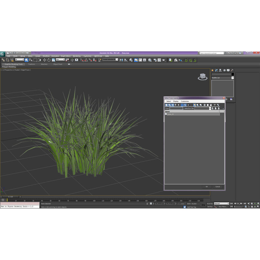 Grass royalty-free 3d model - Preview no. 16