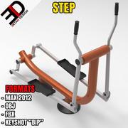 OUTDOOR STEP 3d model