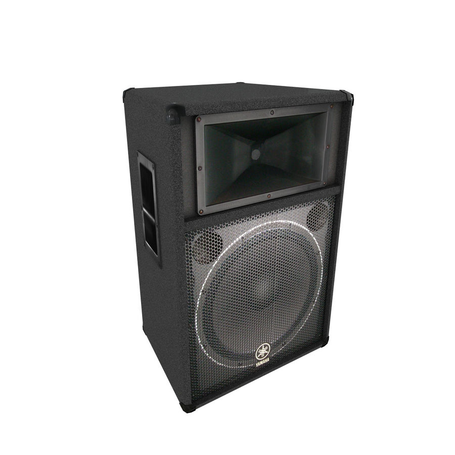 Yamaha Speaker royalty-free 3d model - Preview no. 1