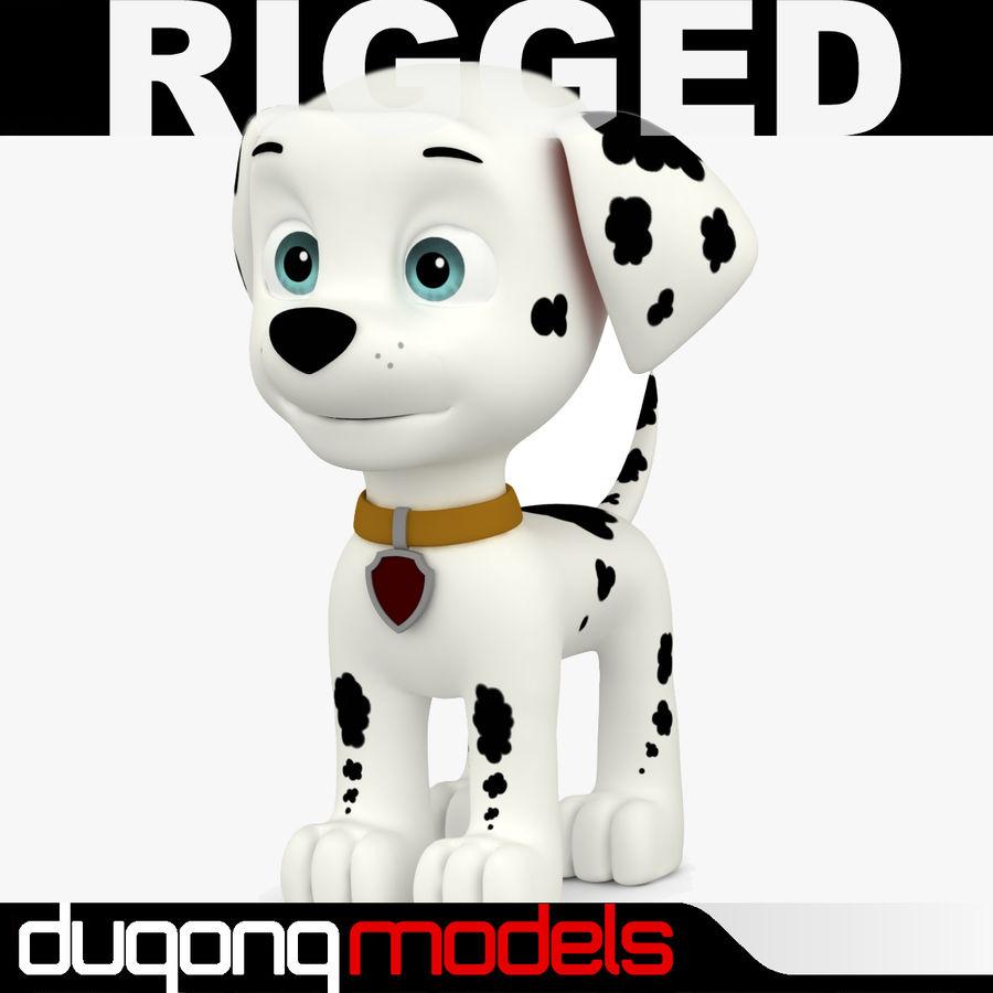 Paw Patrol Dog 03 royalty-free 3d model - Preview no. 1 11d482b90366