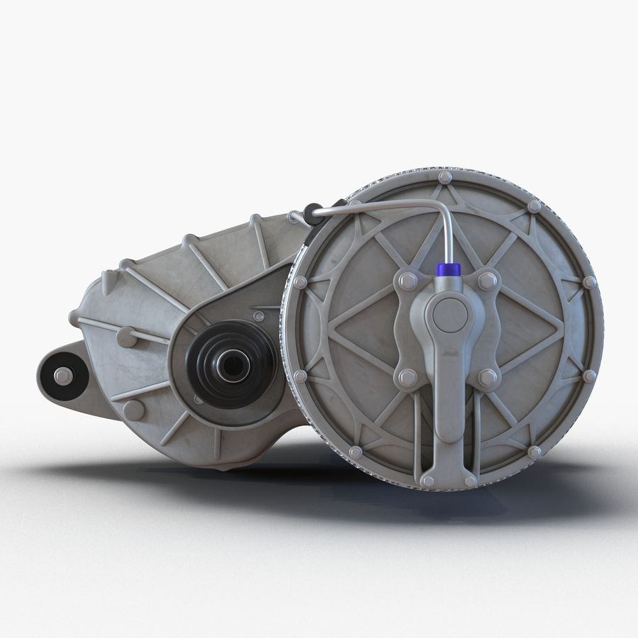 Tesla Electric Motor royalty-free 3d model - Preview no. 10