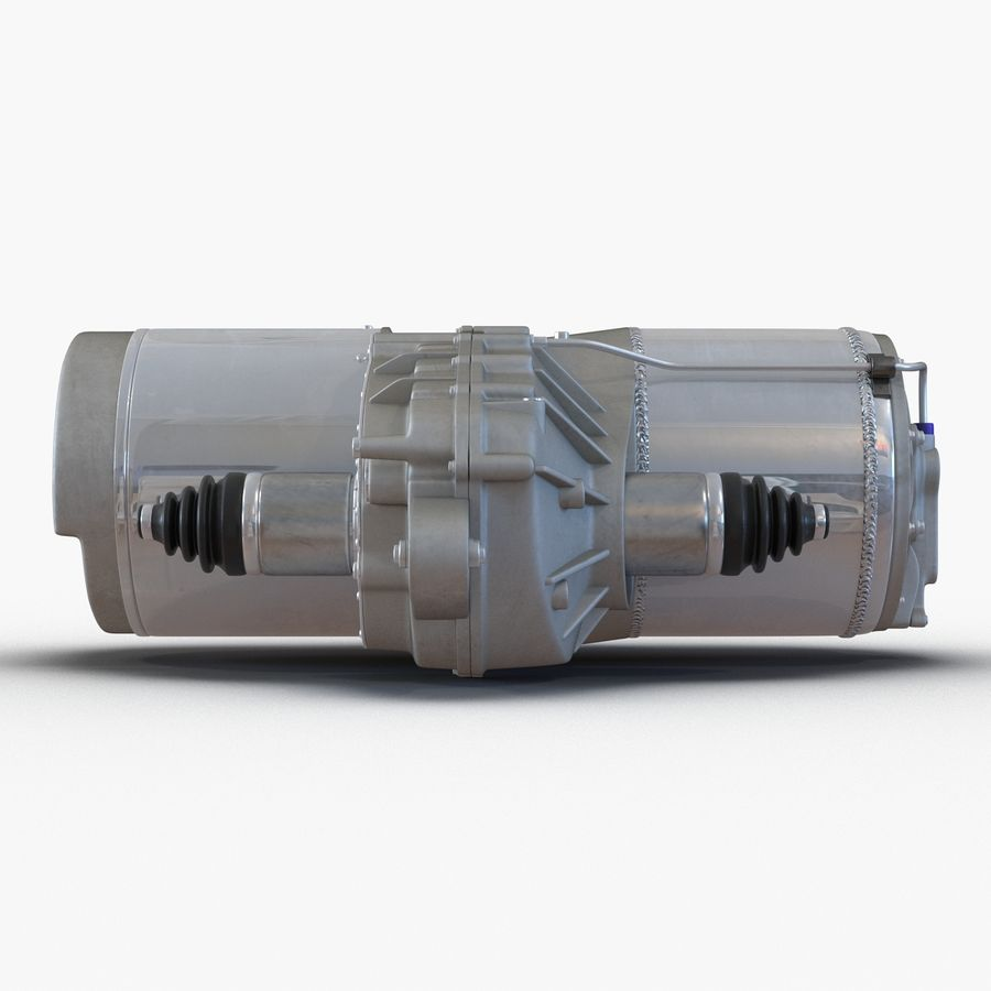 Tesla Electric Motor royalty-free 3d model - Preview no. 9