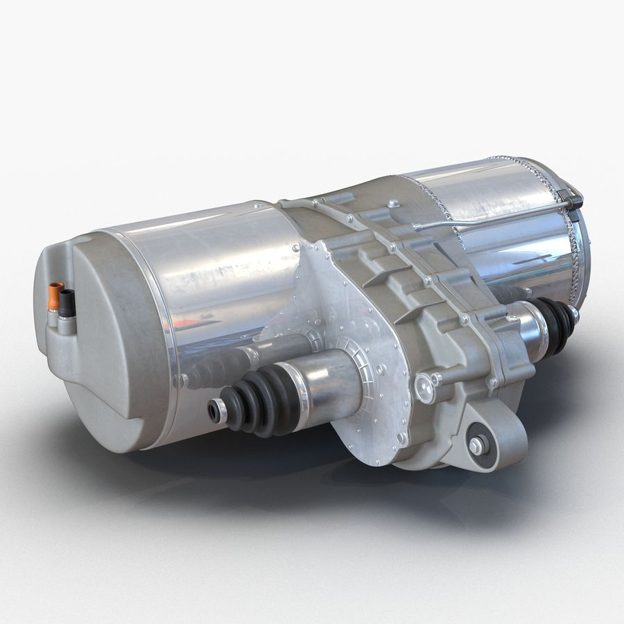 Tesla Electric Motor royalty-free 3d model - Preview no. 5