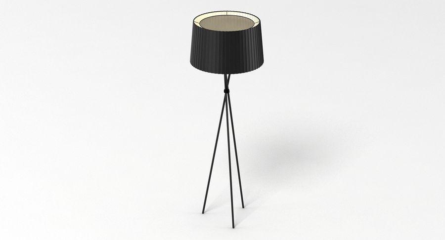 Santa Cole Tripode G5 Lamp royalty-free 3d model - Preview no. 3