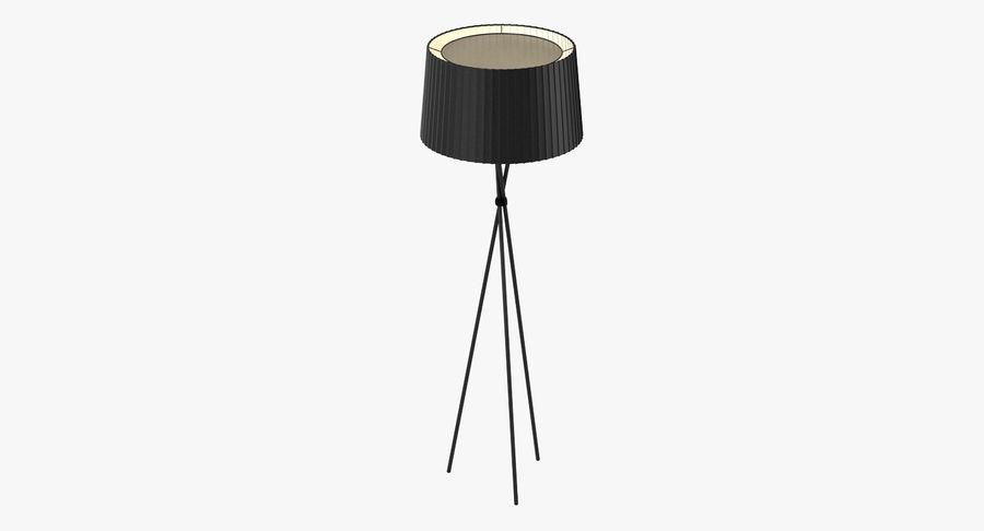 Santa Cole Tripode G5 Lamp royalty-free 3d model - Preview no. 2