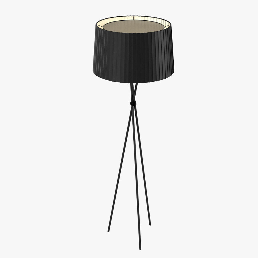 Santa Cole Tripode G5 Lamp royalty-free 3d model - Preview no. 1