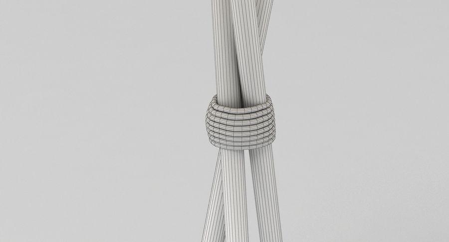 Santa Cole Tripode G5 Lamp royalty-free 3d model - Preview no. 8