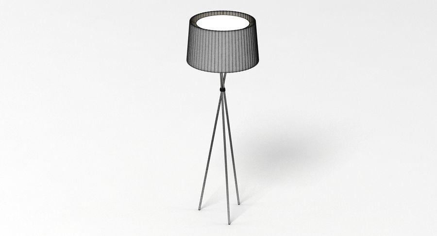 Santa Cole Tripode G5 Lamp royalty-free 3d model - Preview no. 4