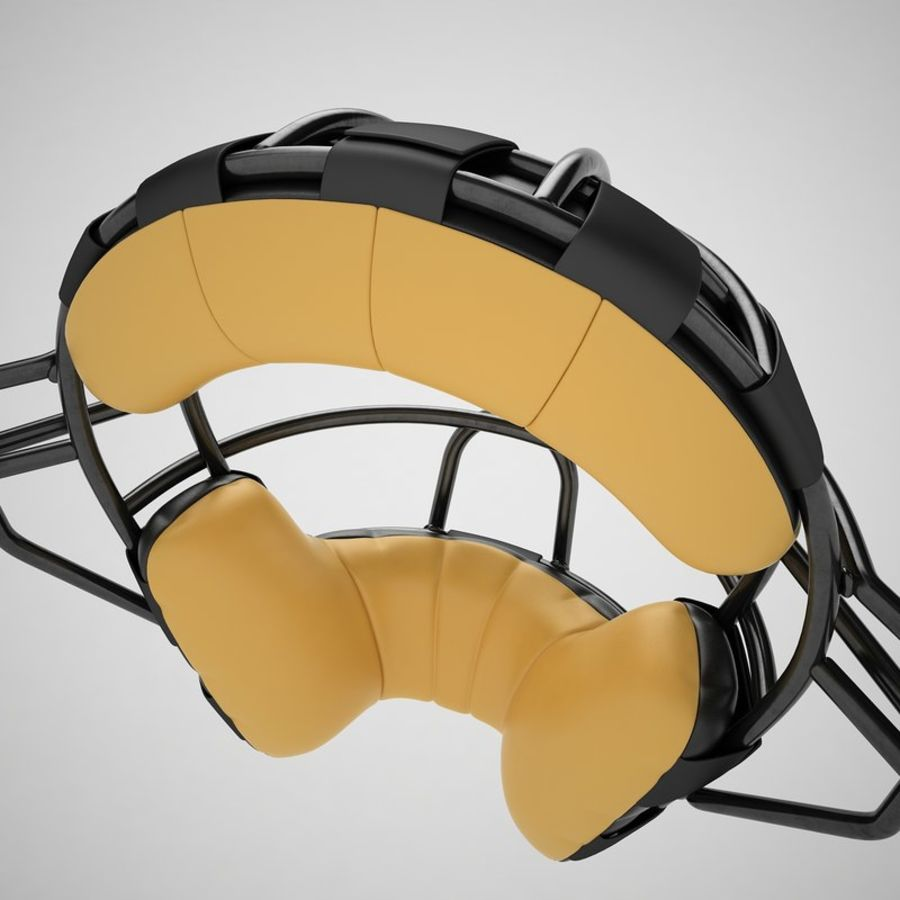 Catchers Face Mask 04 royalty-free 3d model - Preview no. 25
