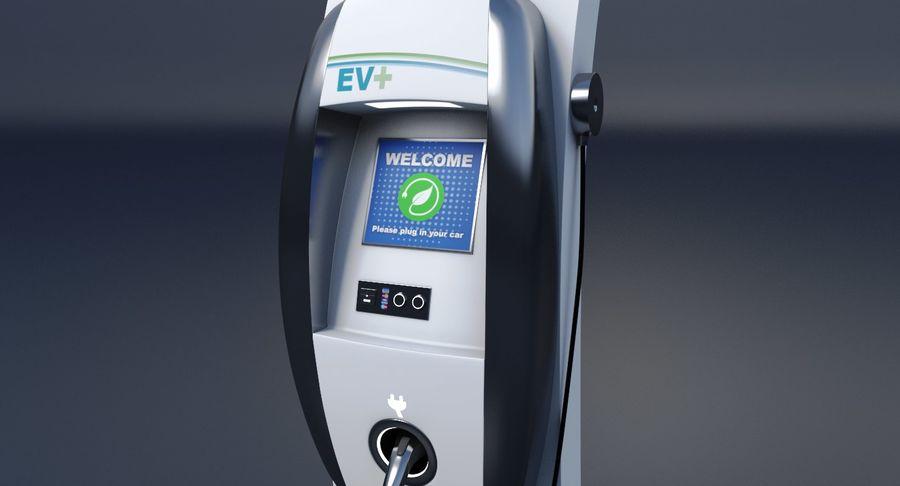 Carregador de Veículo Elétrico royalty-free 3d model - Preview no. 6