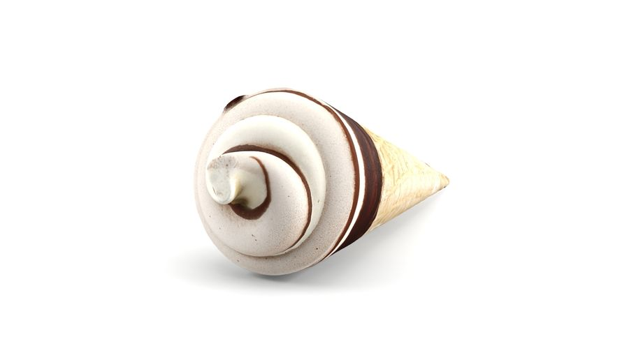 Ice Cream Cones royalty-free 3d model - Preview no. 11