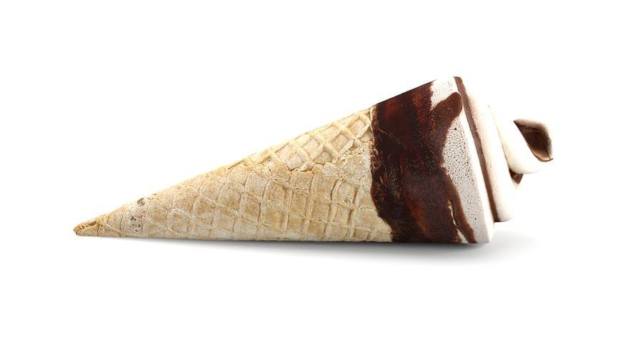 Ice Cream Cones royalty-free 3d model - Preview no. 10