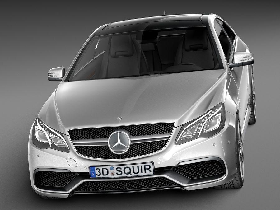 Mercedes benz e63 amg coupe 2016 3d model 129 obj max for Mercedes benz e63 price