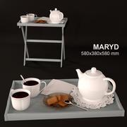 MARYD Tray table 3d model