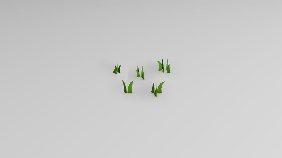 Plants (Low Poly) royalty-free 3d model - Preview no. 8