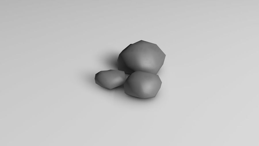 Plants (Low Poly) royalty-free 3d model - Preview no. 5