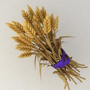 Wheat reap 3d model