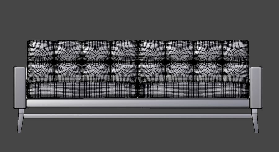 Modern Soffa royalty-free 3d model - Preview no. 7