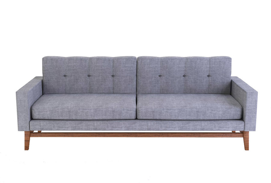 Modern Sofa royalty-free 3d model - Preview no. 1