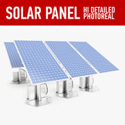 Pannello solare 3d model