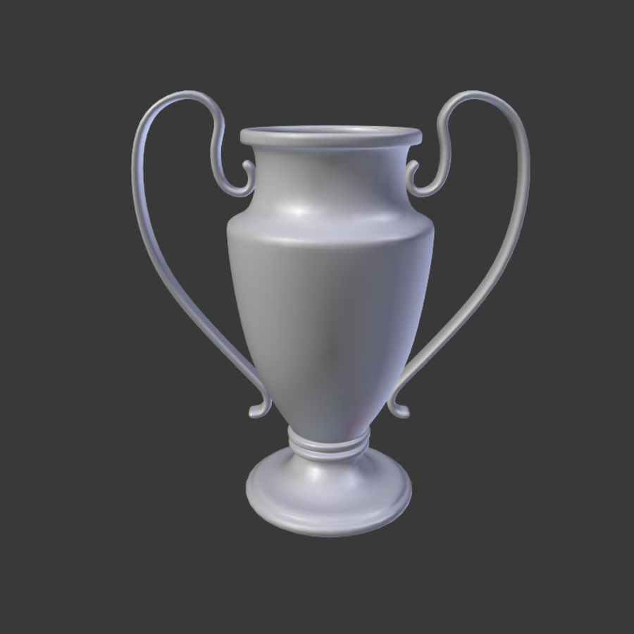 Trophy Cup V1 royalty-free 3d model - Preview no. 3