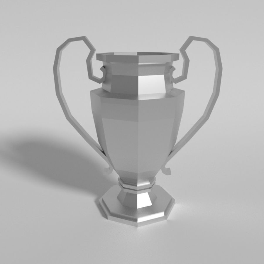 Trophy Cup V1 royalty-free 3d model - Preview no. 2
