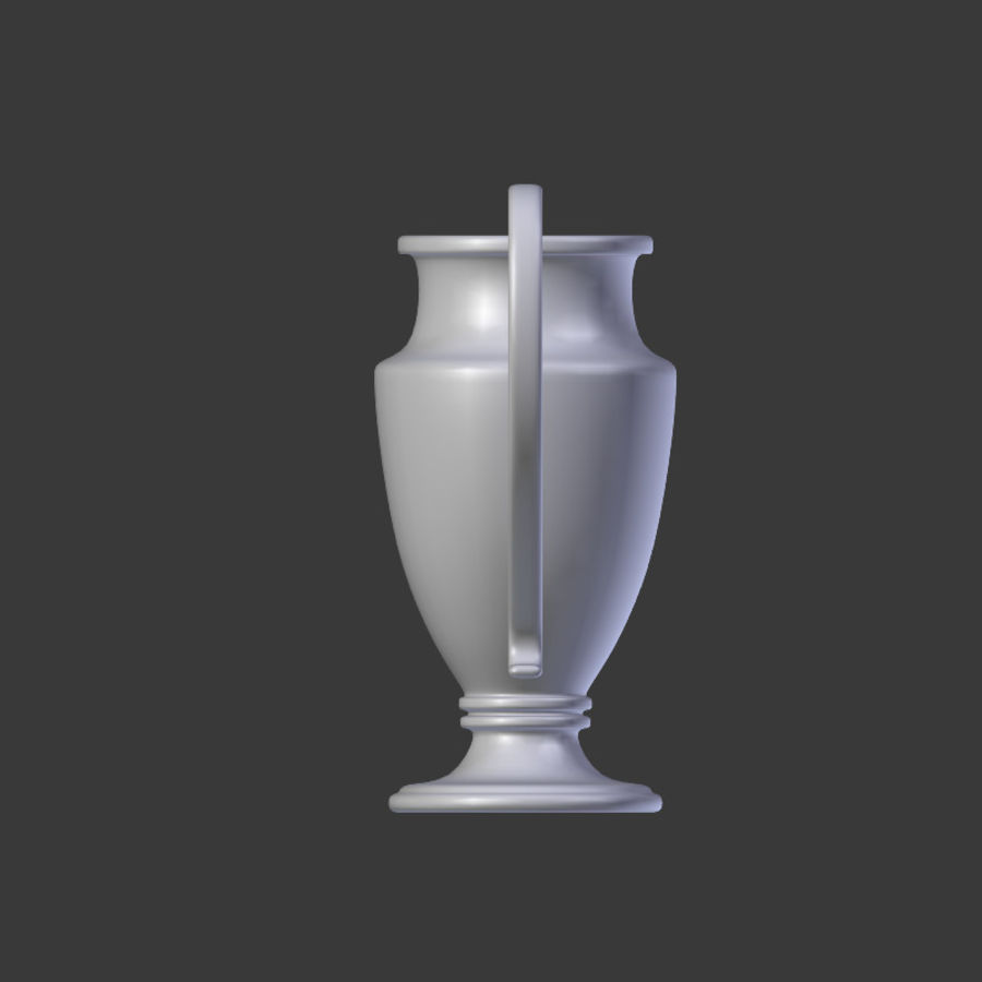 Trophy Cup V1 royalty-free 3d model - Preview no. 10