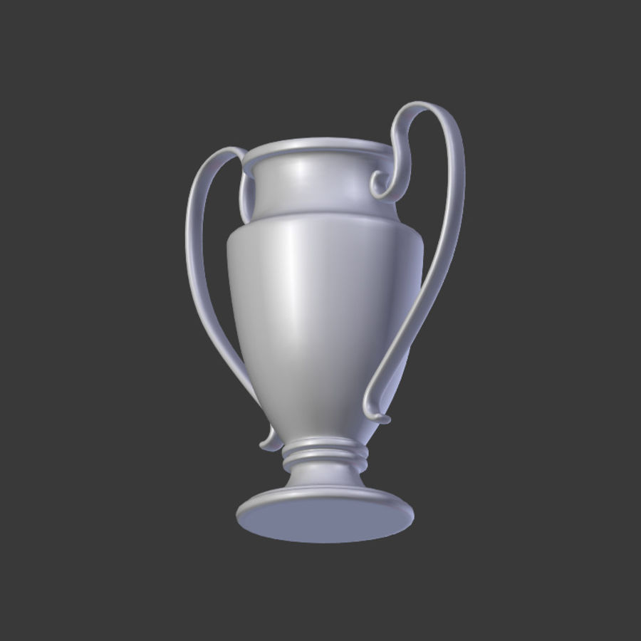 Trophy Cup V1 royalty-free 3d model - Preview no. 13
