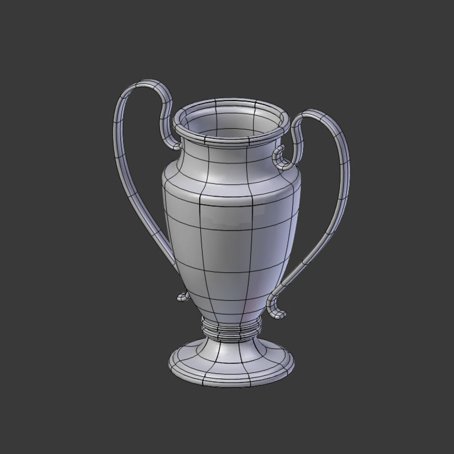Trophy Cup V1 royalty-free 3d model - Preview no. 15