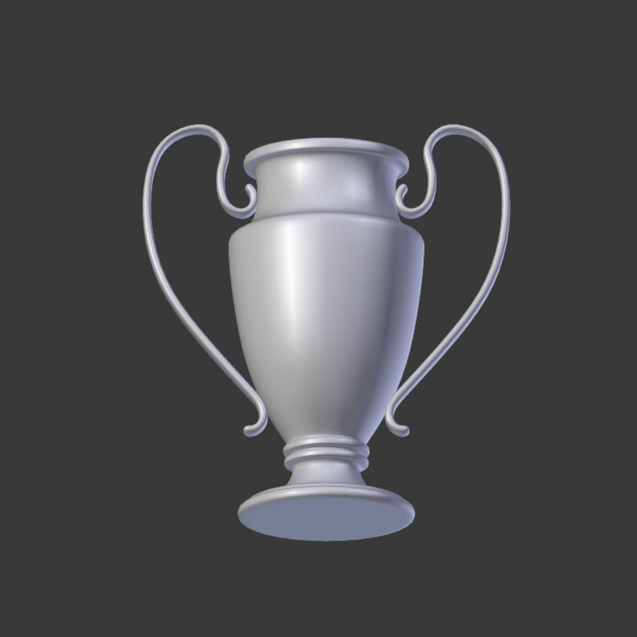 Trophy Cup V1 royalty-free 3d model - Preview no. 12
