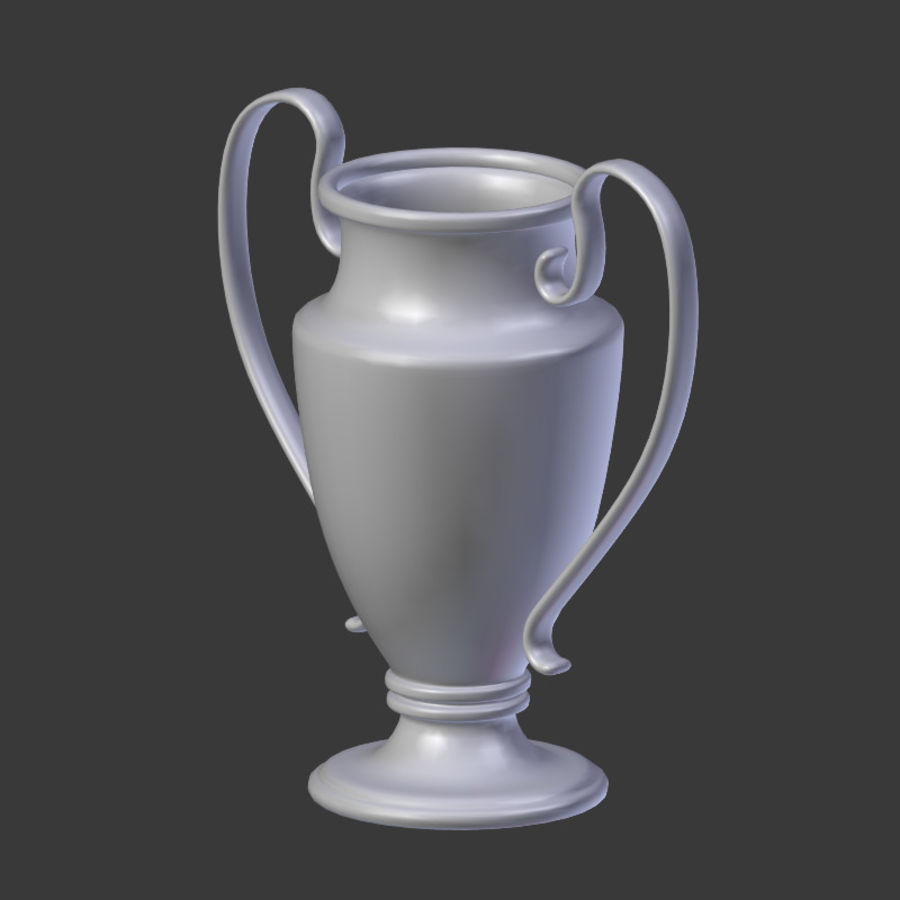 Trophy Cup V1 royalty-free 3d model - Preview no. 14