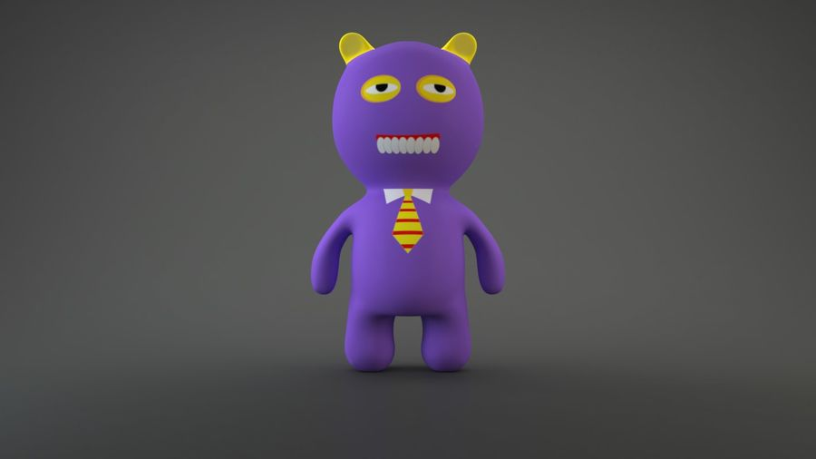 Bear Heroes royalty-free 3d model - Preview no. 12