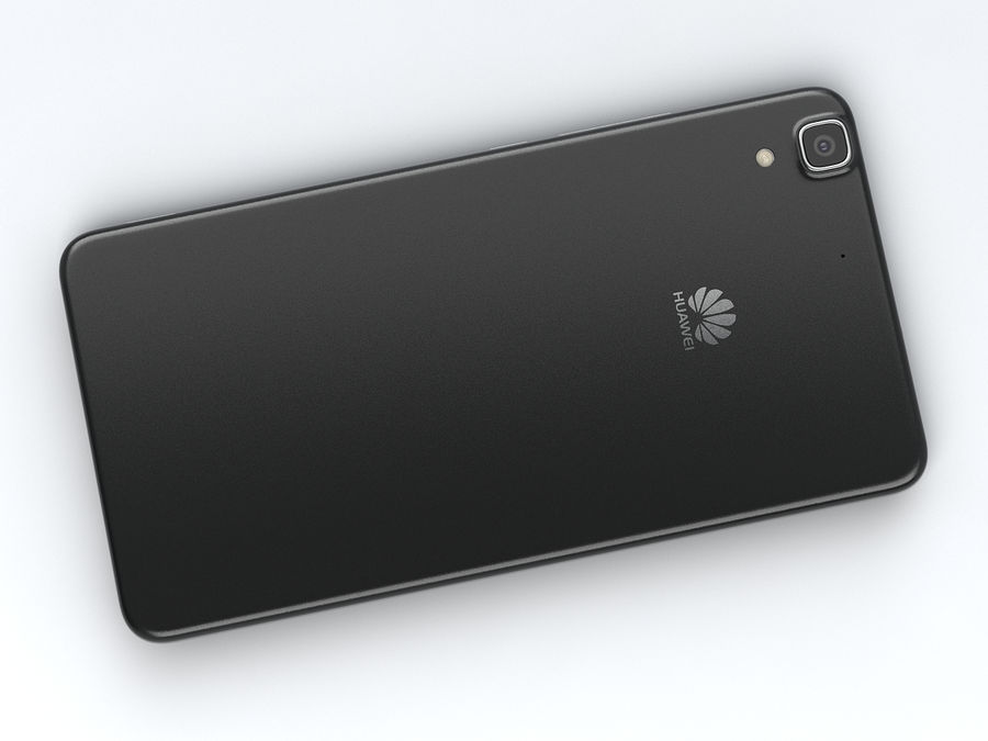 Huawei Y6 royalty-free 3d model - Preview no. 12
