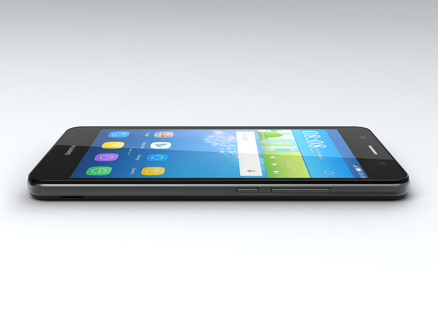 Huawei Y6 royalty-free 3d model - Preview no. 9