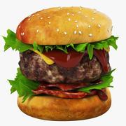 Гамбургер 3d model