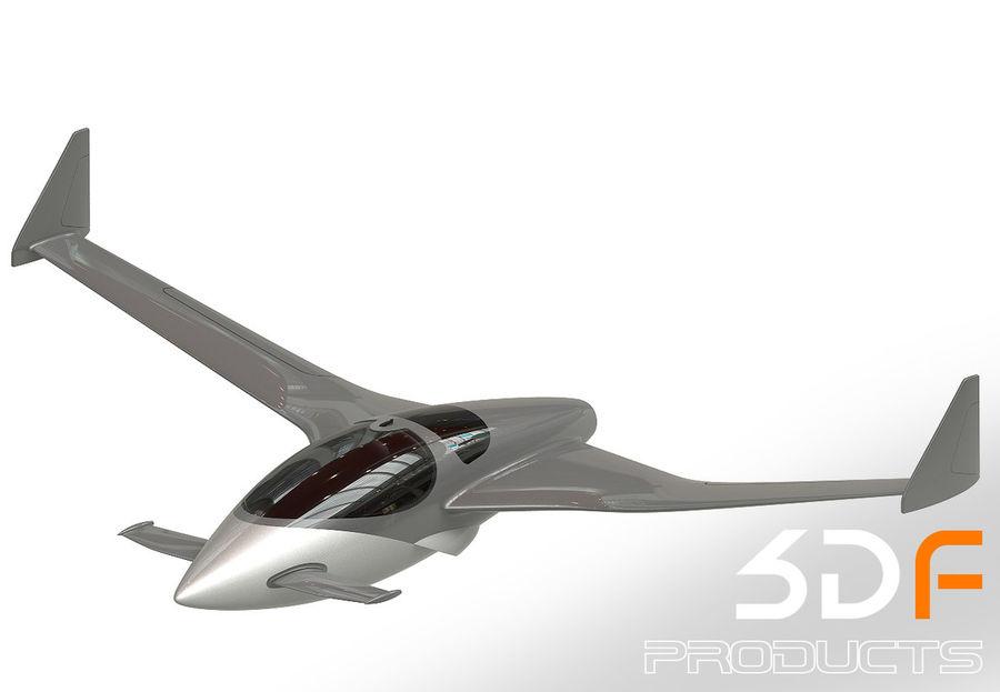 Jet royalty-free 3d model - Preview no. 1