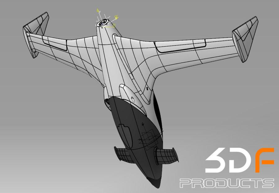 Jet royalty-free 3d model - Preview no. 7