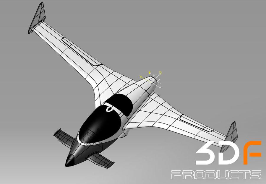 Jet royalty-free 3d model - Preview no. 5