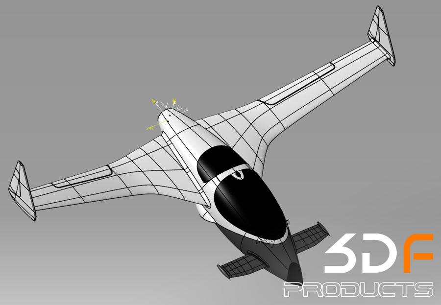 Jet royalty-free 3d model - Preview no. 6