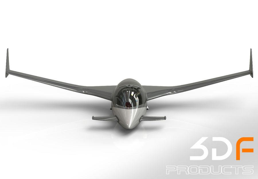 Jet royalty-free 3d model - Preview no. 2