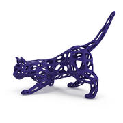Hunting Cat 3D afdrukbaar 3d model