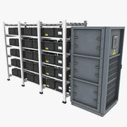 Baterias de Backup 3d model
