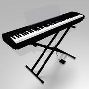 Piano de palco digital 3d model