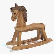 Cavalo de pau 3d model