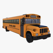 bus scolaire 3d model