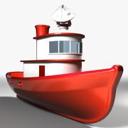 Båt 3d model