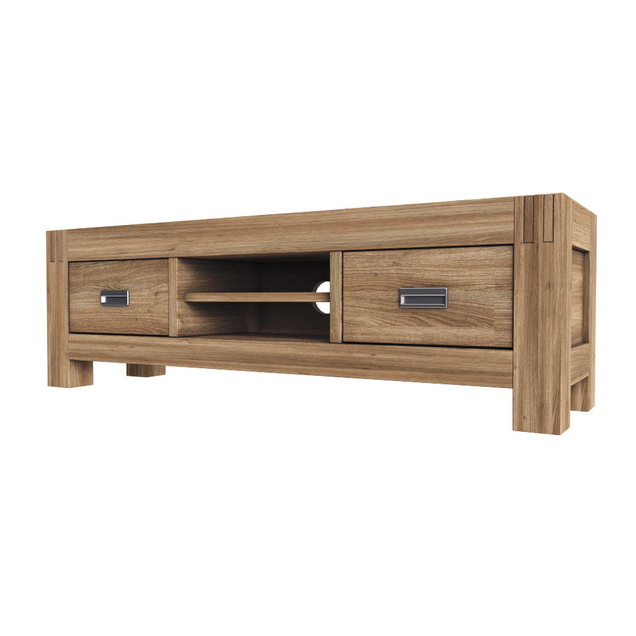 Stylish TV Cabinet royalty-free 3d model - Preview no. 1