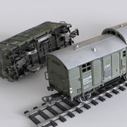 PIKO wagon toy 3d model