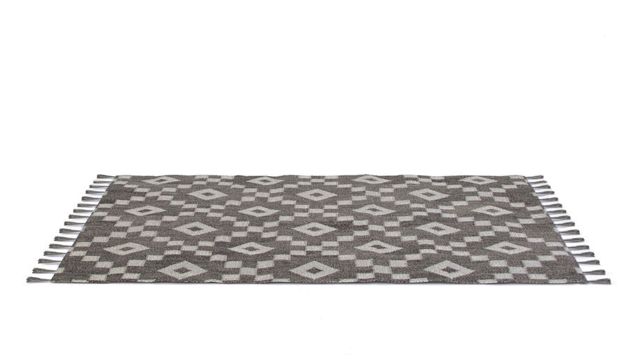 Rug with Fringe royalty-free 3d model - Preview no. 1