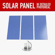 solar panel(1) 3d model